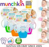 Munchkin Miracle 360° Trainer Cup Baby Spill Proof with Handles Sippy Mug 207ml