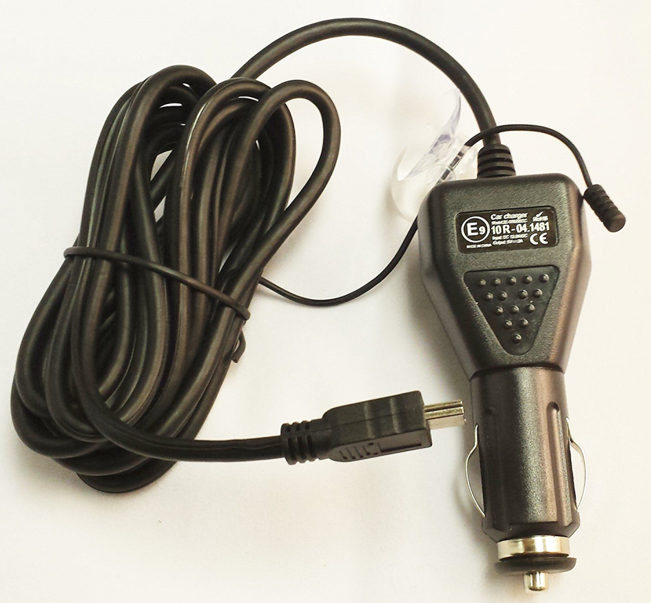 Snooper S6800 CH 12V/24V Power Lead USB Car Charger/TMC Antenna/Cigar lighter
