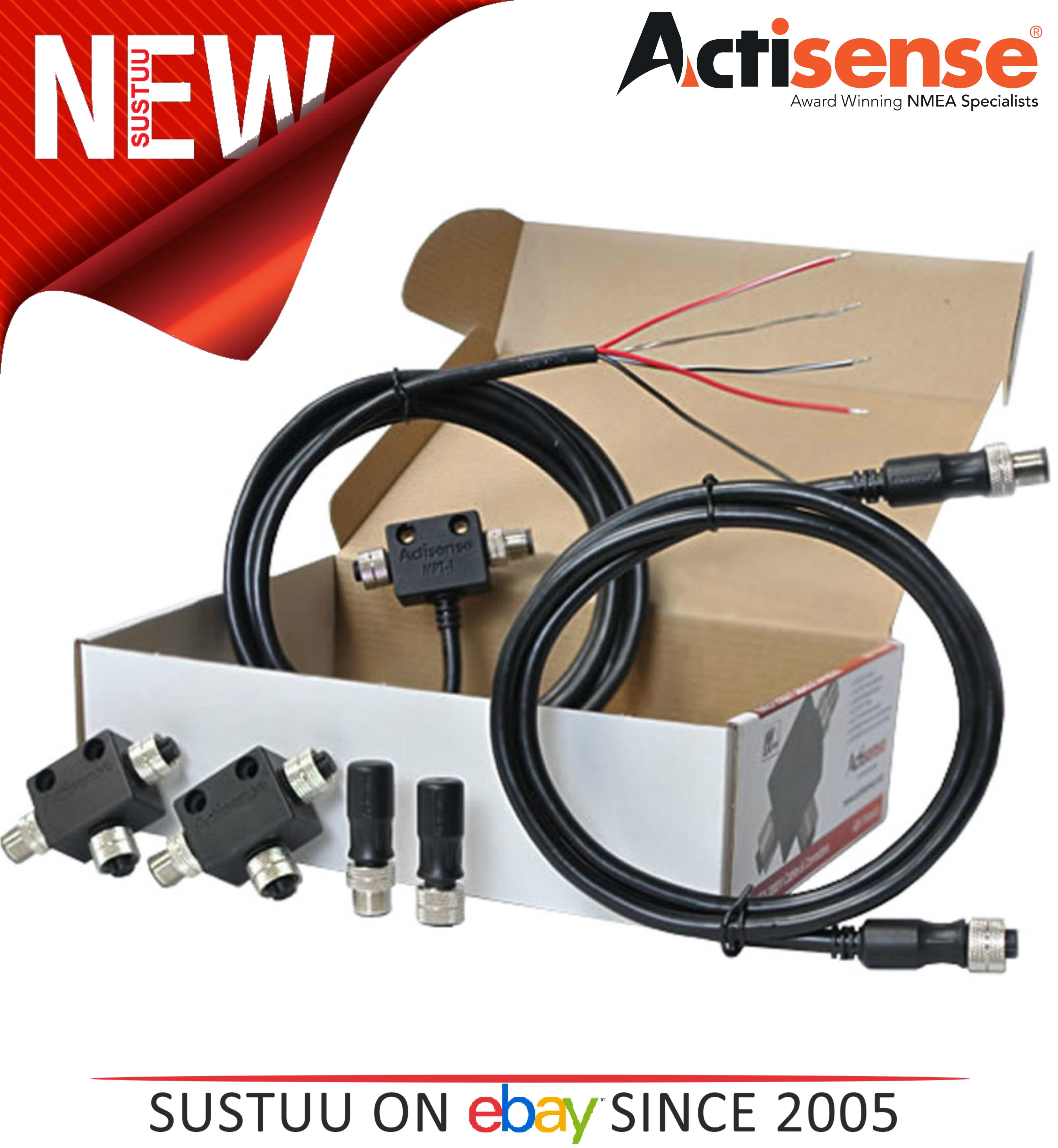 Actisense A2K-KIT-1 Micro Starter Kit|MPT-1/TER-F/TER-M/TDC-2M/T-MFF (x2)|Boats