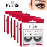 Eylure Exaggerate Lashes Ladies Reusable Adhesive Strip Volume False Eyelashers