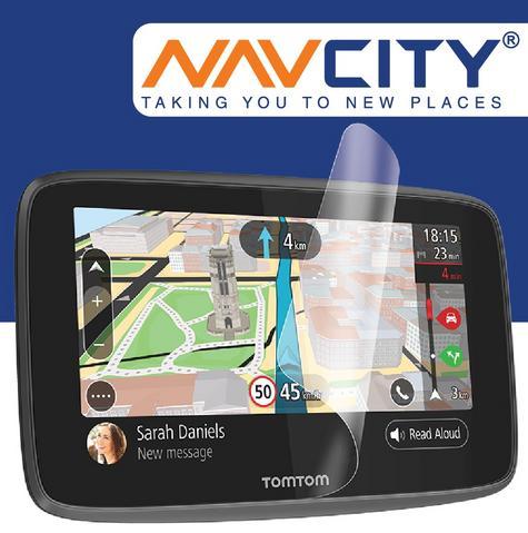 Anti Glare GPS Screen Protector|Premium Quality|TomTom Go & Go Pro 620 6200 6250 Thumbnail 1