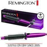 Remington Flexibrush Hot Air Steam Hair Brush Curl Ceramic Hair Styler CB4N New!