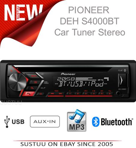 Pionner Car Radio Tuner|AUX|CD|MP3|WMA Bluetooth|USB|Siri iphone|Android Control Thumbnail 1
