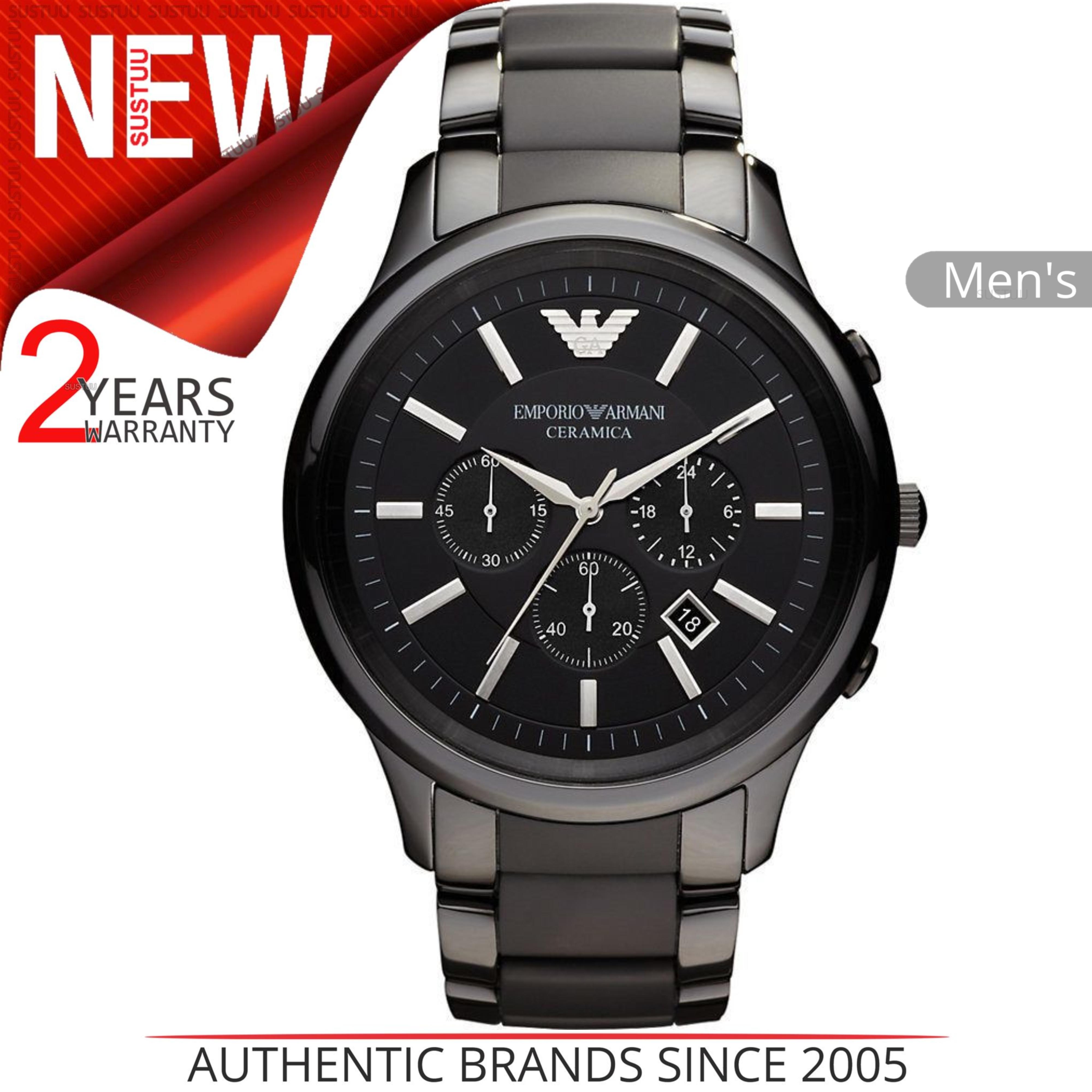 61b4cae3719 CENTINELA Watch│Chronograph Dial│Ceramic Bracelet│AR1452 de hombres de Emporio  Armani Ceramica