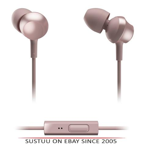Panasonic RPTCM360EP  In-Ear 9.0mm Unit Headphones With Remote & Mic-Rose Gold Thumbnail 1