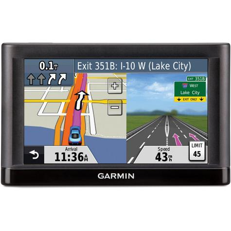 "Garmin Nuvi 54?5"" GPS SatNav?LaneAssist?Speed Camera?*Incl. Case?Full UK EU Maps Thumbnail 2"