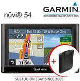 "Garmin Nuvi 54?5"" GPS SatNav?LaneAssist?Speed Camera?Full UK EU Map?Easy to Use?"