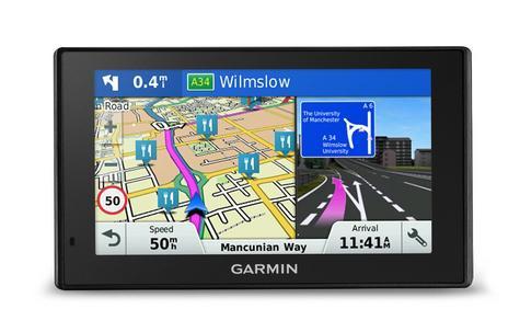 "Garmin DriveSmart 60LMT-D|6"" GPS SatNav|Bluetooth|Lifetime UK-Europe Map+Traffic Thumbnail 2"