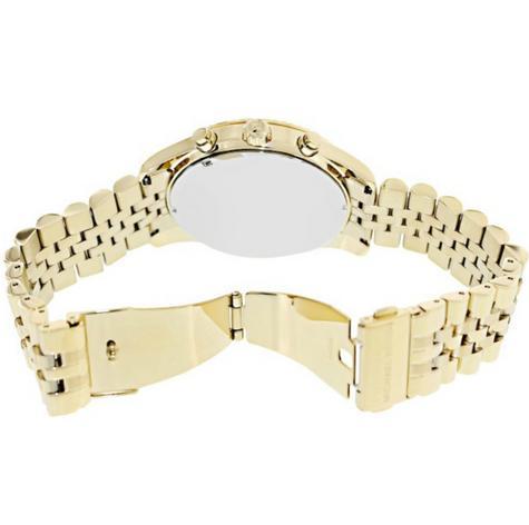 Michael Kors Gent's Lexington Chronograph Gold Tone Designer Round Watch-MK8286 Thumbnail 5