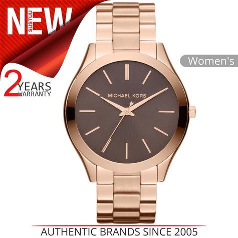 Michael Kors Runway Ladies Watch?Rose Gold Tone Stainless Steel Bracelet?MK3181 Thumbnail 1