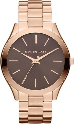Michael Kors Ladies' Runway Designer Rose Gold Tone Bracelet Watch MK3181 Thumbnail 1