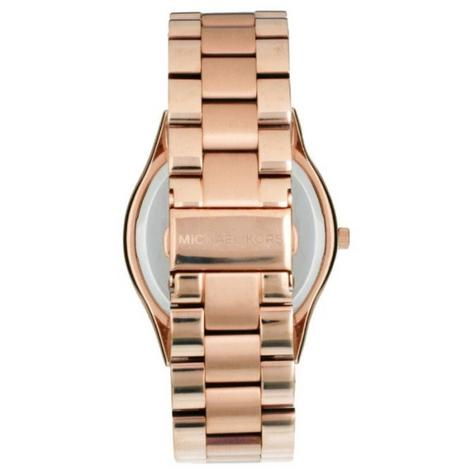Michael Kors Ladies' Runway Designer Rose Gold Tone Bracelet Watch MK3181 Thumbnail 3