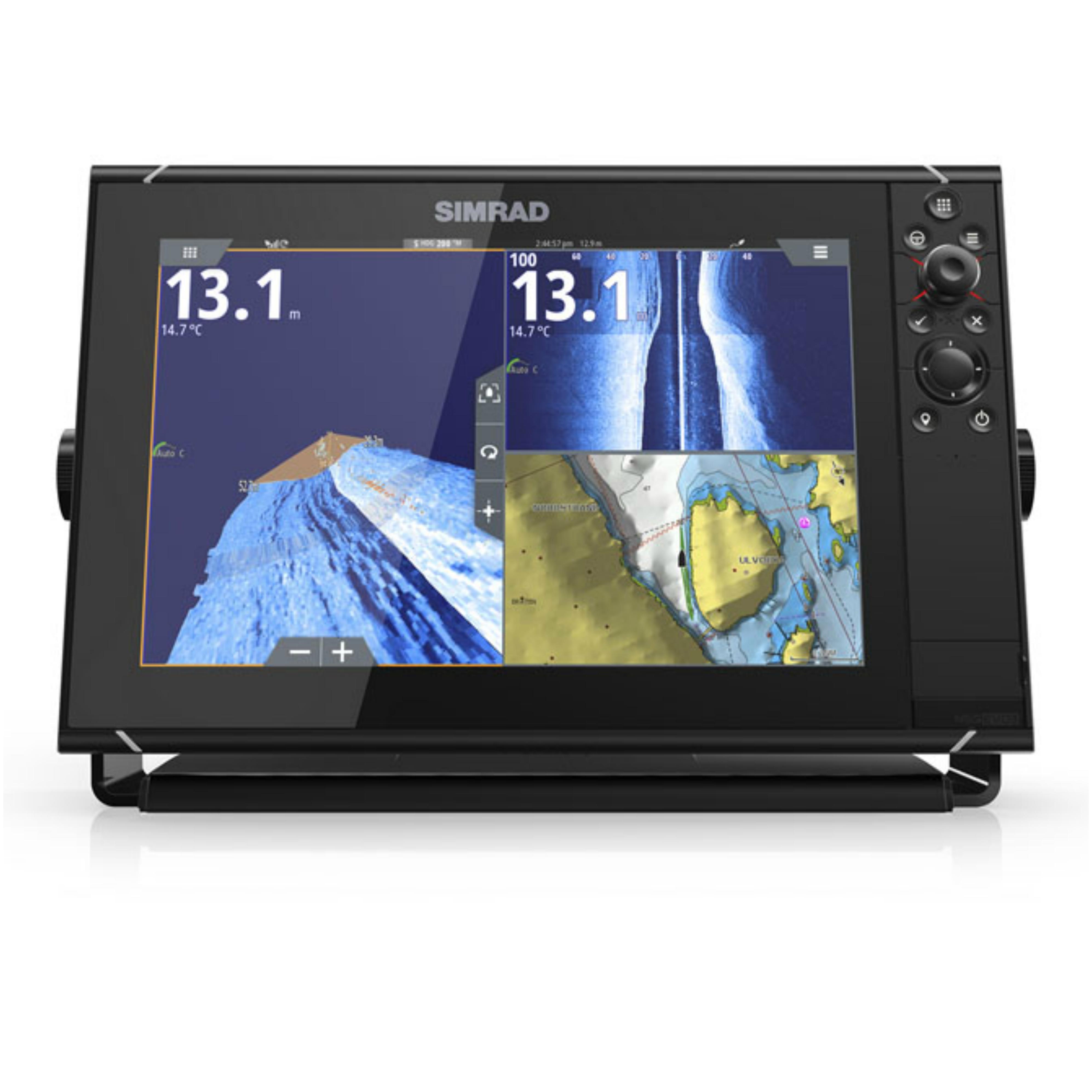 "Simrad NSS12 Evo3 HD MFD-12"" & 4G Radar│GPS│CHIRP/Sonar/C"