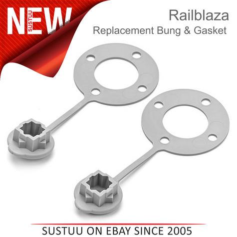 Railblaza Replacement Bung and Gasket x 2 | Kayak Fishing Accessory | 2 Per Pack Thumbnail 1