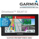 "Garmin DriveAssist 50LMT-D EU|5"" GPS SatNav + Dashcam|Bluetooth|Driver Alerts|Handsfree-Voice Navigation"
