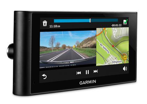 "Garmin DezlCam LMT-D?6""Truck HGV GPS SatNav+Dash Cam?FREE Lifetime UK-Europe Map Thumbnail 5"