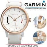 Garmin Vivomove Classic?Smart Watch?Activity Tracker?Sleep Monitor?White Leather