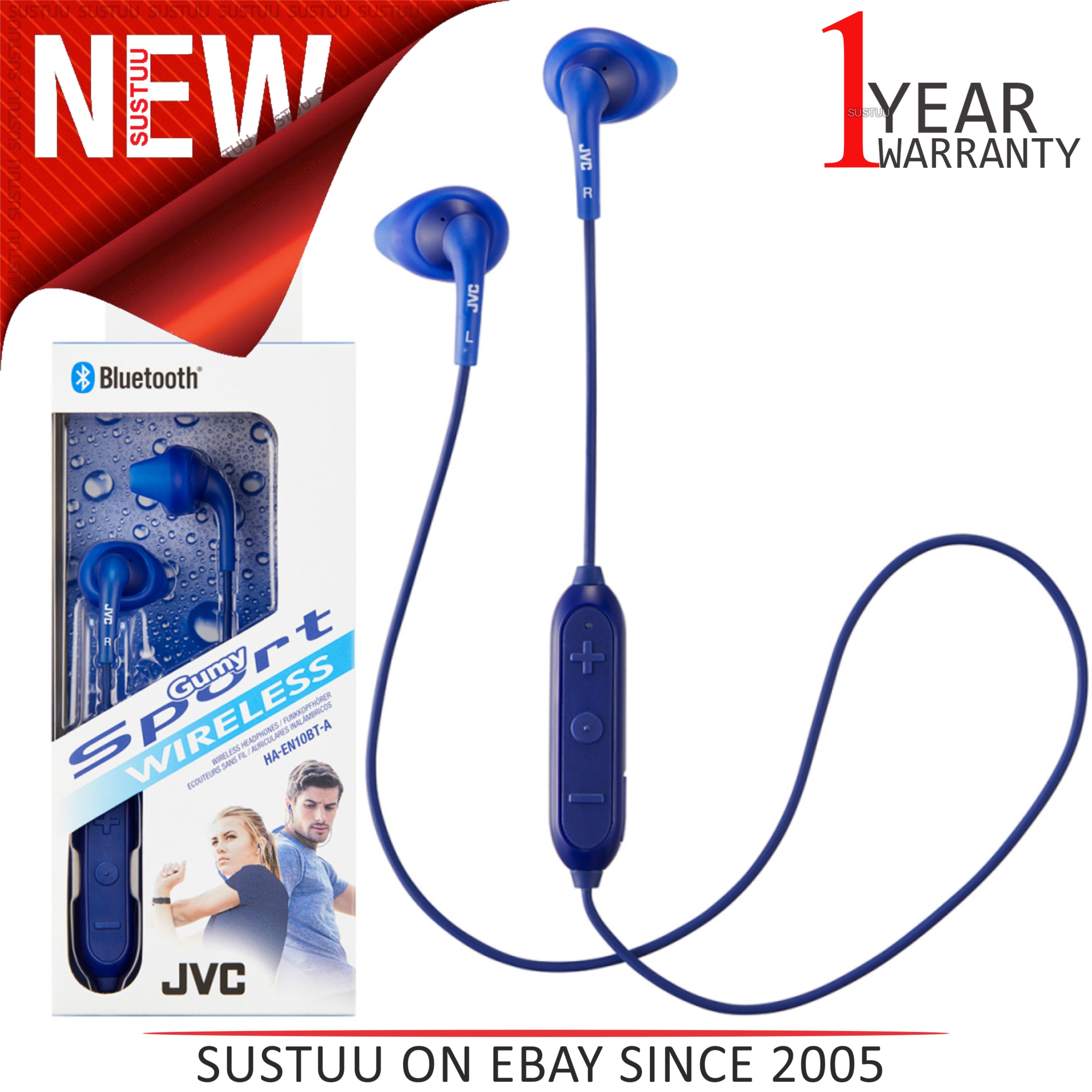 Sentinel JVC HAEN10BTAE Gumy Sports Wireless Bluetooth Headphone│Swet  Proof│Nozzle Fit f6e097090d51