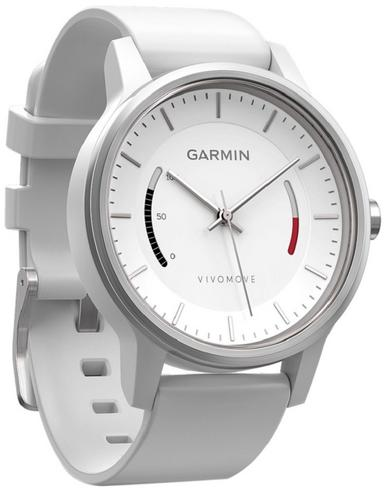 Garmin Vivomove|Analog Watch|Activity Tracker|Sleep Monitor|Sports Band|WHITE  Thumbnail 2