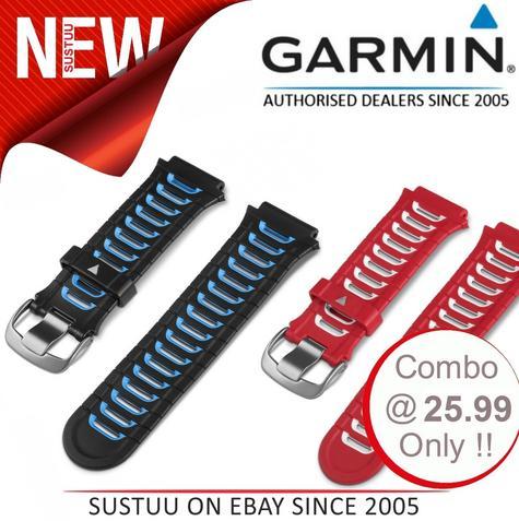 Garmin 010-11251-42|Replacement GPS Watch Band Strap|Forerunner 920XT x 2Color Thumbnail 1