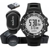 Suunto Quest Black Running Pack Edition with FootPod Mini and Movestick Mini