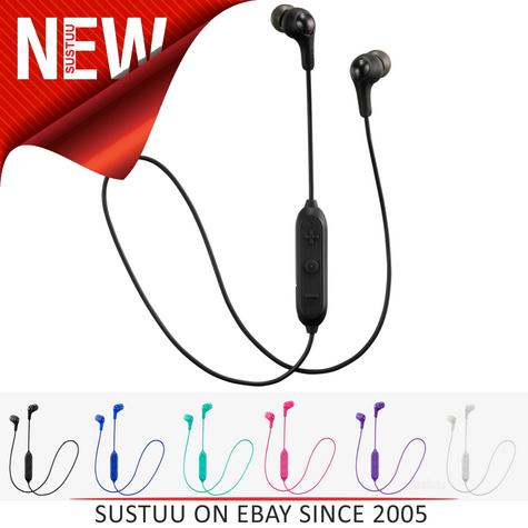 JVC HAFX9BT Gumy Bluetooth Wireless Comfortable Fit Headphones - Multi Colours  Thumbnail 1