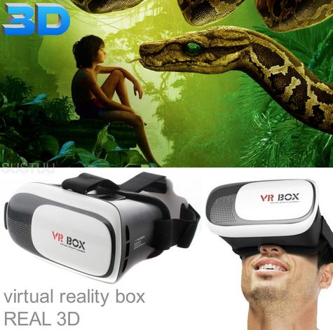 Pama VRB-3D Virtual Reality Glasses With Adjustable Lenses For Smart Phones -NEW Thumbnail 6