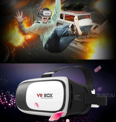 Pama VRB-3D Virtual Reality Glasses With Adjustable Lenses For Smart Phones -NEW Thumbnail 7