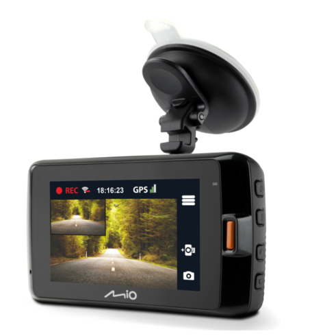 Mio Mivue 752 WIFI Dual|HD Recording|GPS Car Dash & Rear Camera|32GB SD Card|NEW Thumbnail 3