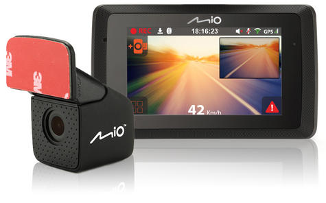 Mio Mivue 752 WIFI Dual|HD Recording|GPS Car Dash & Rear Camera|32GB SD Card|NEW Thumbnail 5