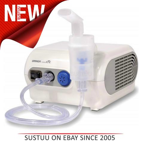Omron NE-C28P CompAir Plus Compressor Medicine Nebuliser Inhaler Mask Thumbnail 1