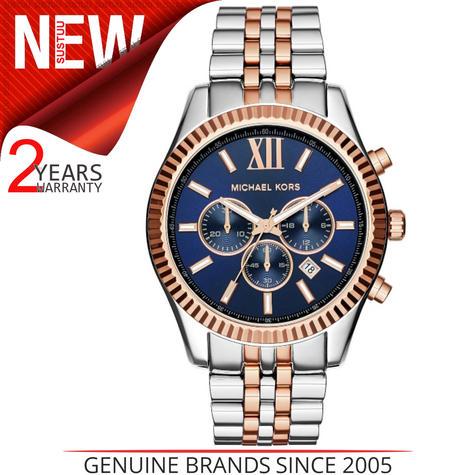 Michael Kors Gent's Lexington Two-Tone Chronograph Stainless Steel Watch MK8412 Thumbnail 1