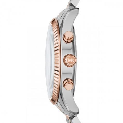 Michael Kors Gent's Lexington Two-Tone Chronograph Stainless Steel Watch MK8412 Thumbnail 4