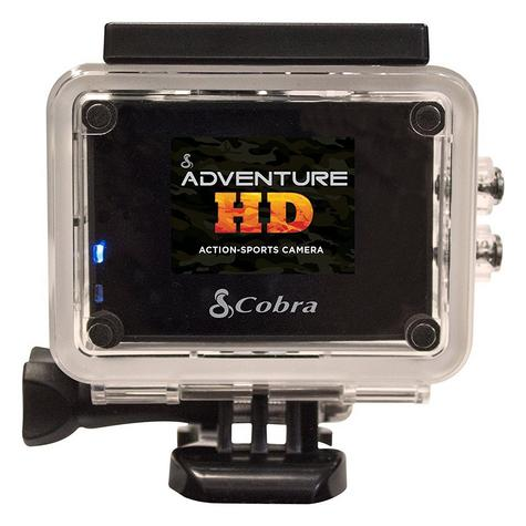 Cobra Adventure HD 5200|Action Camera 1080p|Waterproof <30Mtr|Underwater-Other Sports Recording Thumbnail 5