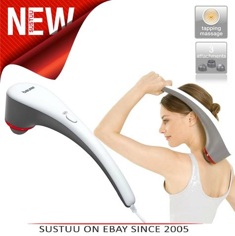 Beurer MG55 Tapping Body Massager|3 Heat Therapy Function|Variable Intensity|20W Thumbnail 1