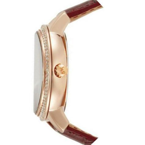 Michael Kors Whitley Burgundy Womens' Rose Gold Round Dial Strap Watch MK2430 Thumbnail 3