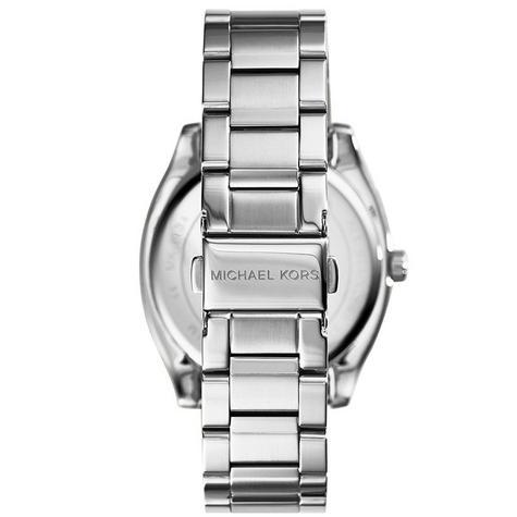 Michael Kors Bryn Stainless Steel Silver Dial Ladies Bracelet Round Watch MK6133 Thumbnail 4