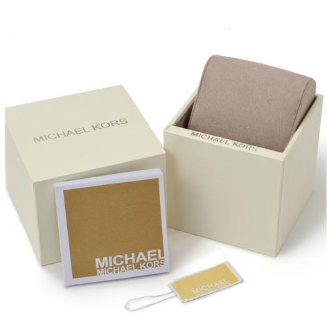 Michael Kors Bryn Stainless Steel Silver Dial Ladies Bracelet Round Watch MK6133 Thumbnail 7
