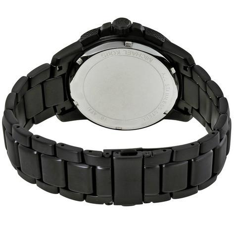 Michael Kors Ryker Men's Black Dial Chronograph Round Analog Wrist Watch MK8529 Thumbnail 3