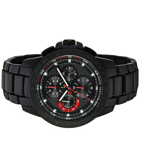Michael Kors Ryker Men's Black Dial Chronograph Round Analog Wrist Watch MK8529 Thumbnail 5