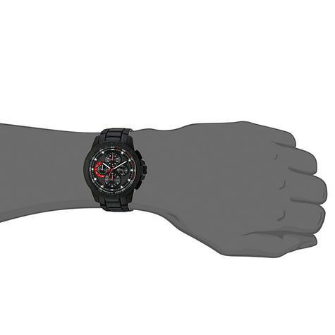 Michael Kors Ryker Men's Black Dial Chronograph Round Analog Wrist Watch MK8529 Thumbnail 6