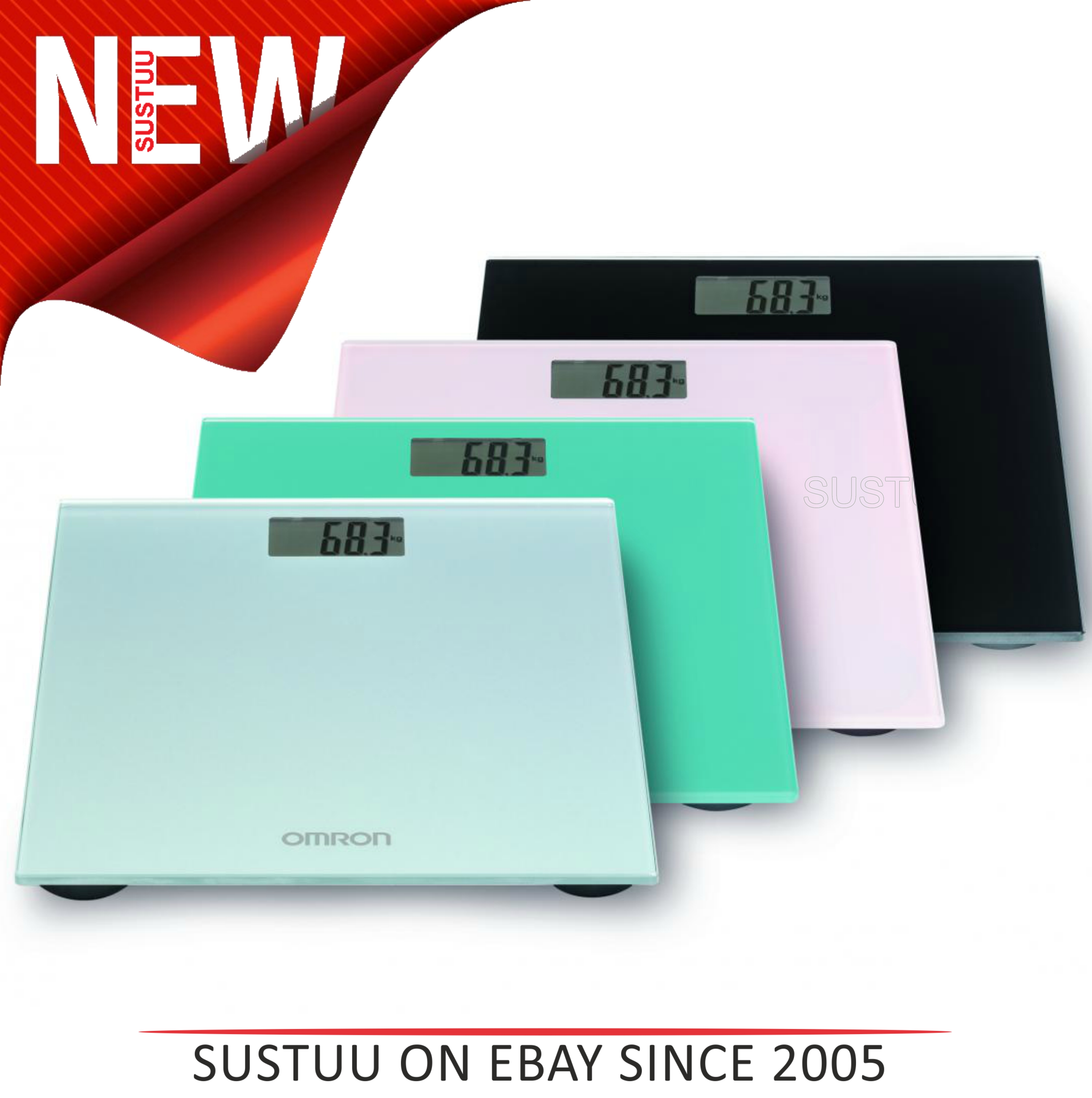 Omron HN289 Digital Personal Body Slim Bathroom Scales|Weighing Technology|NEW