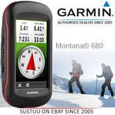 Garmin Montana 680|Handheld GPS Navigator|8MP Camera|Barometer|Altimeter|Compass