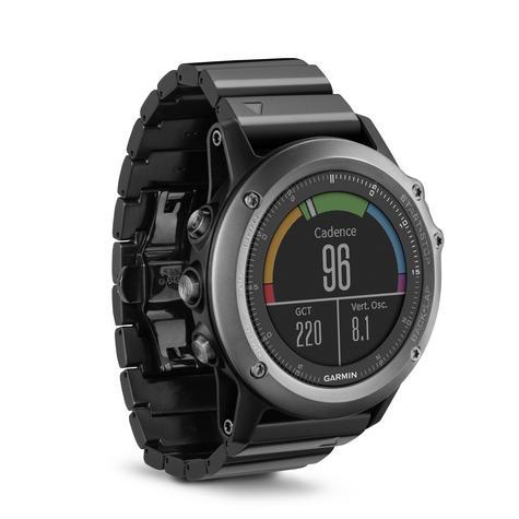 Fenix 3 Sapphire HR?GPS-GLONASS Smartwatch?HRM?Running-Multisport?Silicone-Black Thumbnail 2