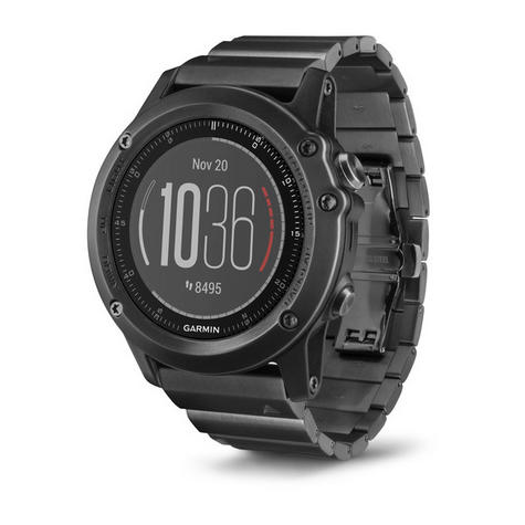 Fenix 3 Sapphire HR?GPS-GLONASS Smartwatch?HRM?Running-Multisport?Silicone-Black Thumbnail 3
