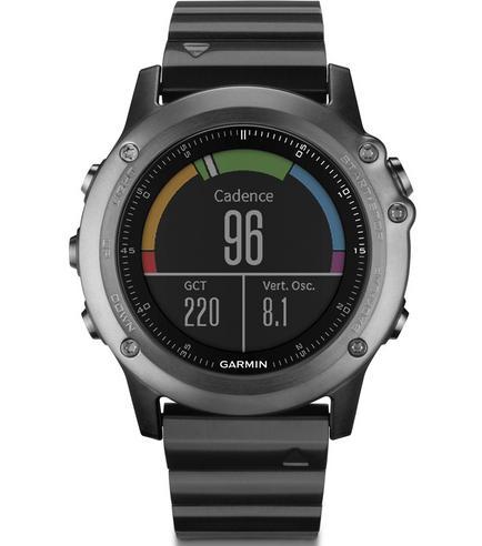 Fenix 3 Sapphire HR?GPS-GLONASS Smartwatch?HRM?Running-Multisport?Silicone-Black Thumbnail 4