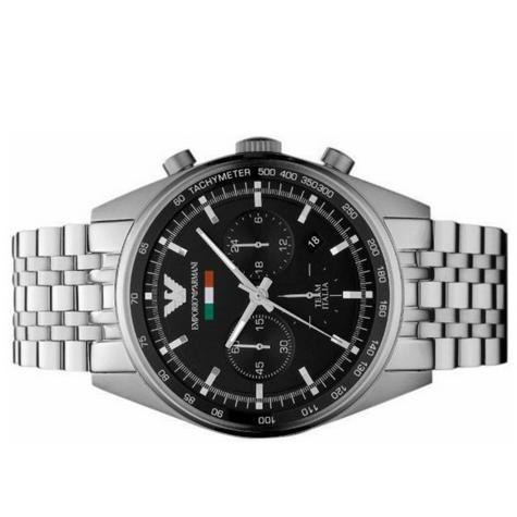 Emporio Armani Men's Sportivo Watch?Chronograph Black Dial?Stainless Band?AR5983 Thumbnail 3