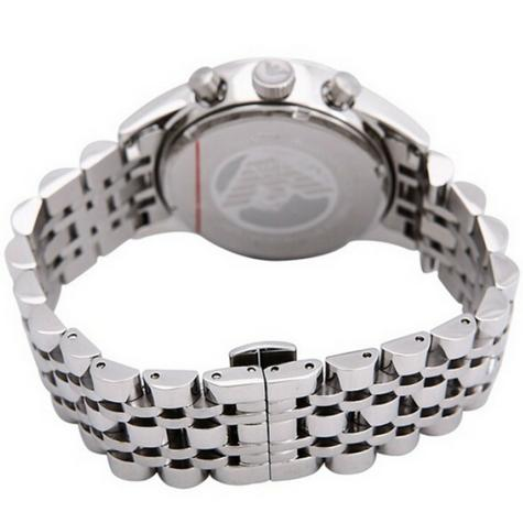 Emporio Armani Men's Sportivo Watch?Chronograph Black Dial?Stainless Band?AR5983 Thumbnail 4