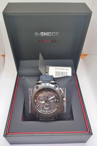 Casio MTG-G1000RB-1AER G-shock Men`s Watch|Solar Energy|Stainless Steel Band|NEW Thumbnail 3