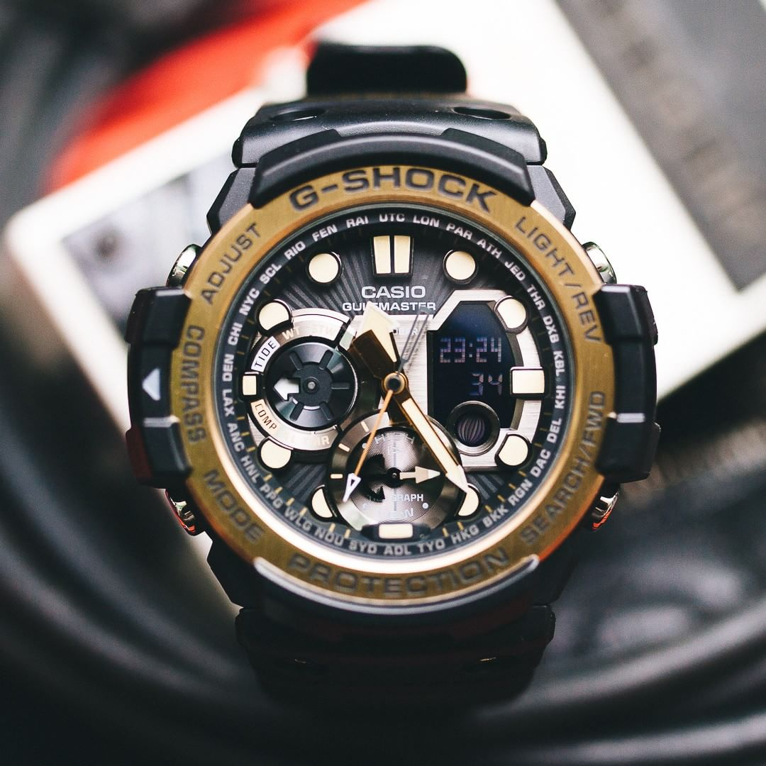 Casio G-shock Gulfmaster 53.4mm Marine Watch|Tide Graph|Storm Alarm|Compass|NEW|